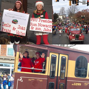 Scenes from the Frostburg Storybook Holiday